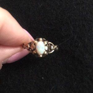 14 Karat Antique Opal Ring